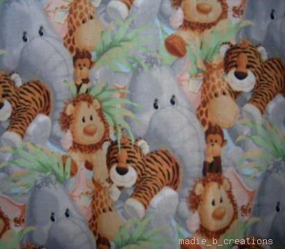 MadieBs Jungle Lion Monkey Custom  Pillowcase  w/Name