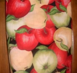 MadieBs Red Green Apples  Plastic Bag Holder Dispenser
