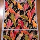 MadieBs Parrots Lovebirds Custom Smock Cobbler Apron