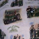 MadieBs John Deere Nap Mat Pad Cover w/Name