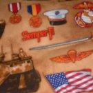 MadieBs Set of 2  U.S. Army Tanks Flag Crib Sheets New