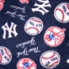 MadieBs New Yurk Yankee Toddler Baby Fleece Blanket