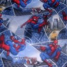 MadieBs Spiderman Blue Custom Toddler Bed Sheet Set