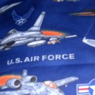 MadieBs United States Air Force Toddler Sheet Set