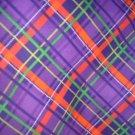 MadieBs Purple Pladi New Crib/Toddler Bed Sheet Set