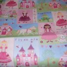 MadieBs Princess Castle New Crib/Toddler Bed Sheet Set