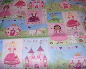 MadieBs Princess Castle New Crib/Toddler Bed Sheet Set