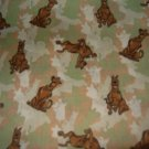 MadieBs Scooby Doo Camoi Crib/Toddler Bed Sheet Set
