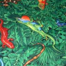 MadieBs Jungle Life Reptile  Crib/Toddler Bed Sheet Set