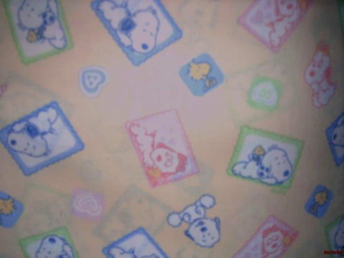 MadieBs Snoopy Belle  Crib/Toddler Bed Sheet Set