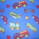 MadieBs Cars Trucks Planes  Crib/Toddler Bed Sheet Set