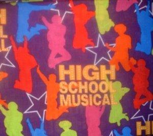 MadieBs High School Musical Crib/Toddler Bed Sheet Set