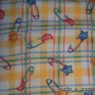 MadieBs Set of 2 Cute Diaper Pin  Crib Sheets New