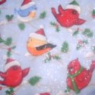 MadieBs Winter Birds Cute Custom Smock Cobbler Apron