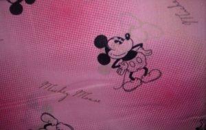 MadieBs Mickey Mouse Pink Crib/Toddler Bed Sheet Set