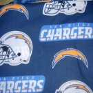 MadieBs San Diego Chargers  Custom  Pillowcase  w/Name