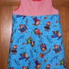 MadieBs School Time Fun Color  Jumper/Dress SZ 2/2T NEW