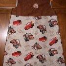 MadieBs Custom Tan Cars Mater Jumper/Dress SZ 2/2T NEW