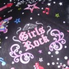 MadieBs Girls Rock  Queen Custom Pillowcase  w/Name