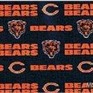 MadieBs Chichago Bears  Queen Custom Pillowcase  w/Name