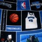MadieBs Timberwolves NBA  Fleece Toddler Baby Blanket
