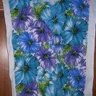 MadieBs Custom Adult Special Needs Bib Blue Fllowers