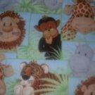 MadieBs Set of 2  Jungle Babies Custom   Crib Sheets