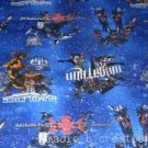 MadieBs Set of 2  Transformers on Blue  Crib Sheets
