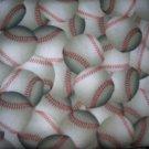 MadieBs Set of 2 BaseBall Base Ball  New  Crib Sheets
