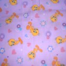 MadieBs Tweetyt Bird Hearts Toddler Pillowcase w/name