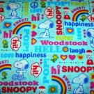 MadieBs Snoopy Woodstock  Crib/Toddler Bed Sheet Set