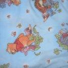 MadieBs Pooh on Blue  Fleece Toddler Baby Blanket 30c36