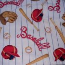 MadieBs BaseBall Bat  Kinder Nap Mat Pad Cover w/Name