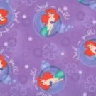 MadieBs Little Mermaid Ariel  Toddler Pillowcase w/name