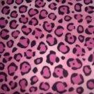 MadieBs Pink Cheeta Spot  Crib/Toddler Bed Sheet Set