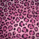 MadieBs Pink Cheeta Spots  Custom  Pillowcase  w/Name
