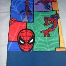 MadieBs Spiderman Bright  Toddler Pillowcase w/name