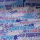 MadieBs Hanana Montana Flanne  Nap Mat Pad Cover w/Name