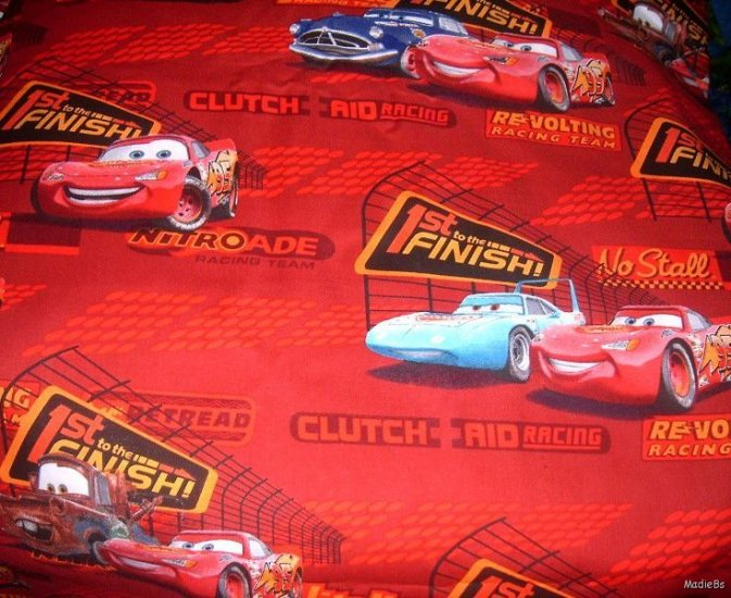 MadieBs McQueen and Friends Custom  Bumper Pads Crib