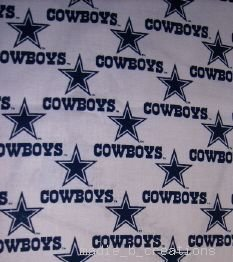 MadieBs Dallas Cowboys NFL  Custom  Pillowcase  w/Name