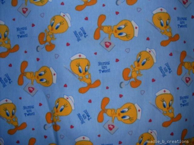 MadieBs Tweety Bird Nurse  Custom  Pillowcase  w/Name