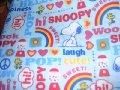 MadieBs Snoopy Friends Love  Nap Mat Pad Cover w/Name