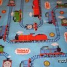 MadieBs Thomas Train Fitted Toddler Sheet w/pillowcase