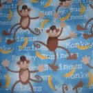 MadieBs Monkey Business  Custom  Pillowcase  w/Name