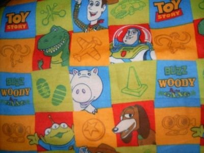 MadieBs Toy Story Flannel  Custom  Pillowcase  w/Name