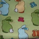 MadieBs Easter Bunnies Cute Custom  Pillowcase  w/Name
