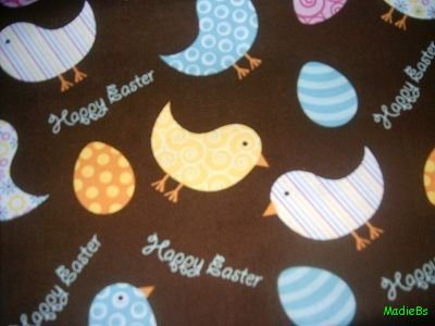 MadieBs Easter Chicks Cute  Custom  Pillowcase  w/Name