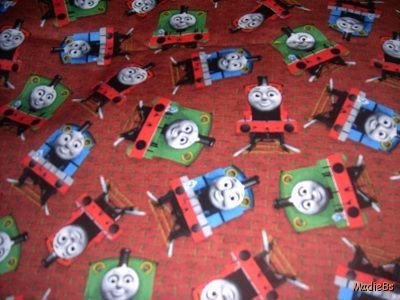 MadieBs Thomas and Friends Toddler Bed Sheet Set 3 Pc