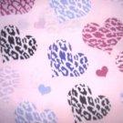 MadieBs Multi Hearts  Custom  Pillowcase  w/Name