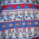 MadieBs Raggedy Ann & Andy Travel Pillowcase/Name